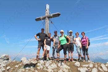 Rafolški pohodniki na Storžiču (2132m)