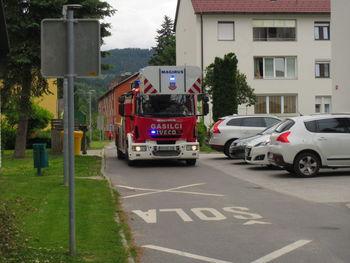 Vaja evakuacija na šoli Juričkovega Drejčka