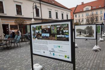 Na Trgu svobode je na ogled razstava fotografij na prostem - o Pohorju