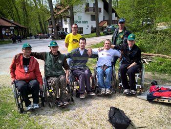 Zmaga za koroške paraplegike