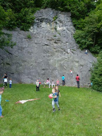 Plezalno popoldne planincev Vrtca Vransko