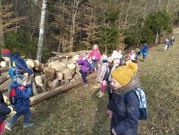 Mladi planinci Vrtca Vransko izkoristili sončno popoldne