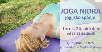 JOGA NIDRA - jogijsko spanje