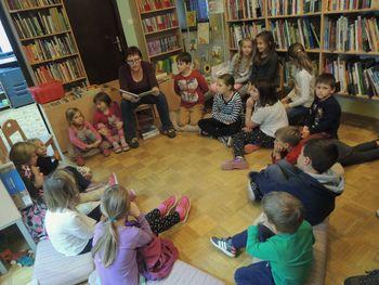 Po pravljici diši ... v Občinski knjižnici Vransko