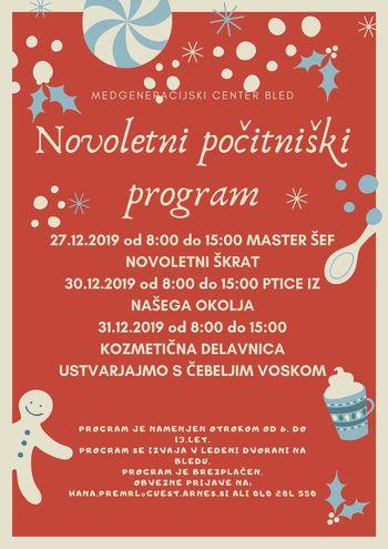 Novoletni počitniški program