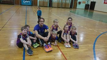 Sevniški atleti s tremi odličji na mnogoboju v Radečah