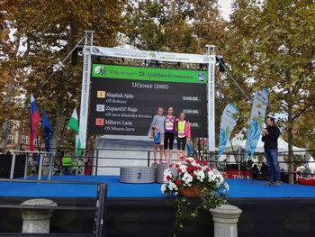 Sevniški in blanški atleti odlični na Ljubljanskem maratonu