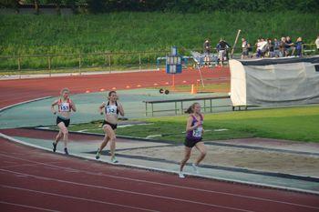 Sevniška atletinja Lea Haler tokrat z dvema državnimi naslovoma z DP za starejše mladinke in mladince