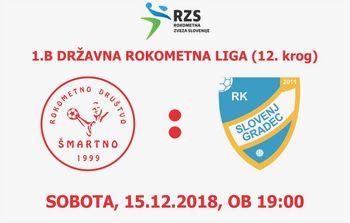 Rokometna tekma proti RK SLOVENJ GRADEC 2011 (1.B DRL - 12. krog)