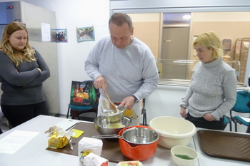 Kuharska delavnica: POLNOZRNATI IN ZELENJAVNI NJOKI