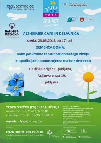 Alzheimer Cafe in delavnica