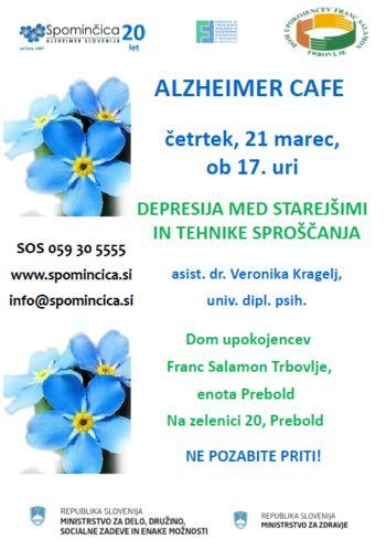 Alzheimer Cafe v DU Franc Salamon Trbovlje-Prebold