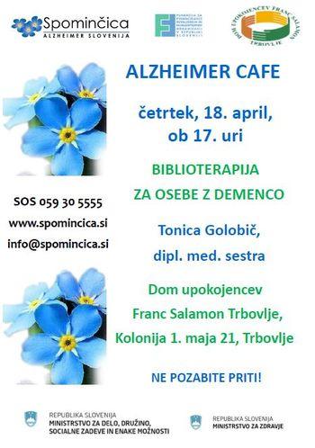 ALZHEIMER CAFE V DU FRANC SALAMON TRBOVLJE