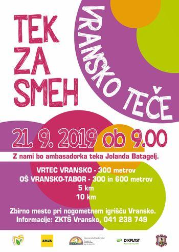 TEK ZA SMEH - VRANSKO TEČE 2019