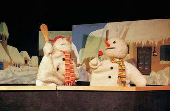 Otroška matineja: Trije snežaki in obisk dedka Mraza