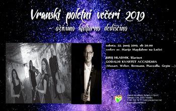 VRANSKI POLETNI VEČERI 2019 - oživimo kulturno dediščino