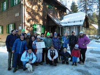 Zimovanje članov Medobčinskega društva Sožitje v Ratečah