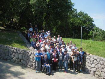 Spomladanski družinski izlet Medobčinskega društva Sožitje