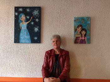 Razstava Milice Tomšič v Mestni kavarni, Majde Gartner v Trdinovem hramu in literarni večer ter likovna razstava ob 100-letnici smrti Frana Maslja Podlimbarskega