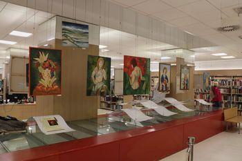 Slikarska in fotografska razstava Bince Lomšek v Ljubljani