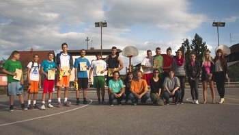 Turnir trojk – košarkarski  dogodek v Mengšu