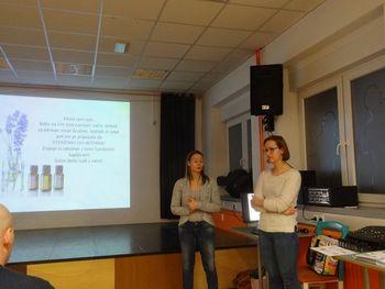 Predavanje v AIA: Krepitev zdravja s pomočjo eteričnih olj