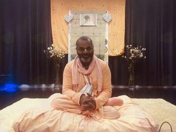 Obiskal nas je Swami Bhakti Kinkar Damodar iz Indije