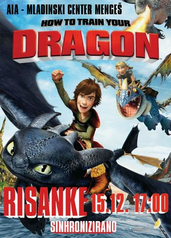 Risanke - How to train your dragon