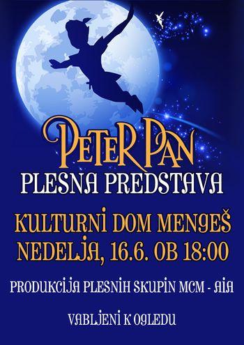 Plesna predstava PETER PAN