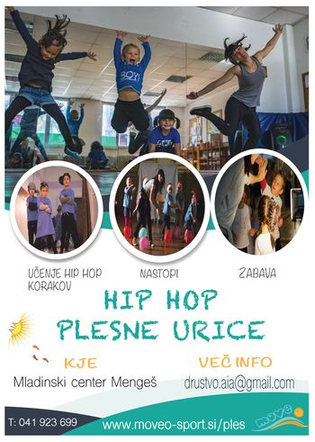 Hip Hop plesne vaje