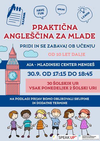 Praktična angleščina za mlade