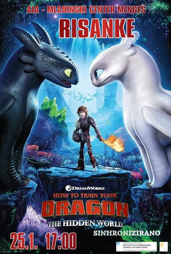 Risanke - How to train your dragon 3