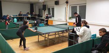 Namiznoteniški turnir v AIA mladinskem centru Mengeš