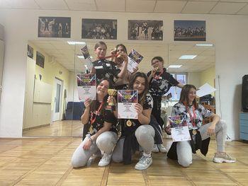 Uspehi hip hopark Društva AIA v plesni sezoni 2020–21