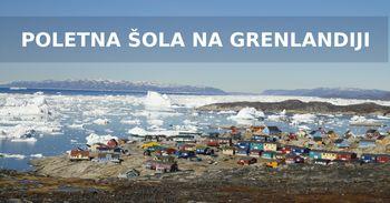 Poletna šola na zahodni Grenlandiji