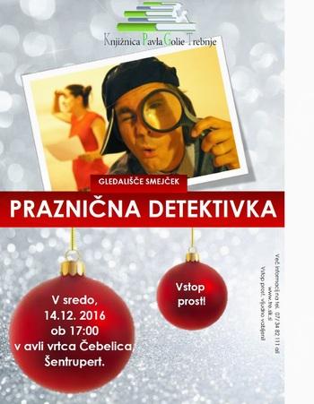 Predstava za otroke Praznična detektivka