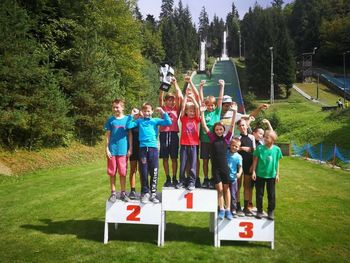 Mengeški skakalci v trajno last prejeli pokal Alpe-Jadran