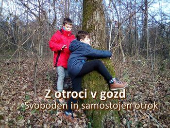 Z otroci v gozd to soboto