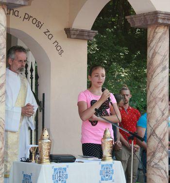 Četrta tradicionalna maša pri kapelici Marije Brezmadežne v Drašči vasi