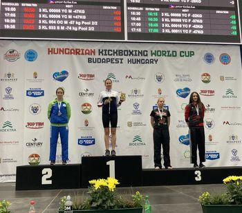 Kristina odlična na Madžarskem