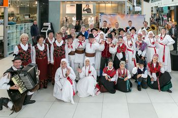 Vojniške Taščice na martinovanju v Ljubljani