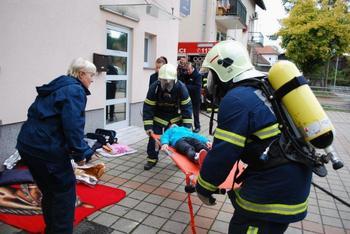 Vaja evakuacije in reševanja iz kulturnega doma