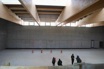 Dela v športni dvorani pri OŠ T. Pavčka potekajo po zastavljenih načrtih