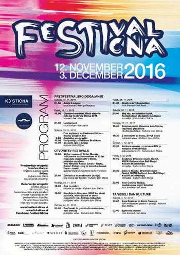 FESTIVAL STIČNA 2016 (od 12. 11. do 3. 12.)