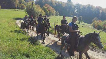 Nedeljsko druženje konjenikov