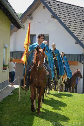 Tradicionalno jurjevo žegnanje konj in konjenikov