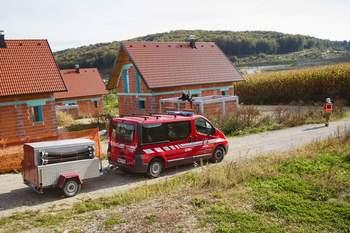 Reševalno gasilska vaja v Dolenji vasi