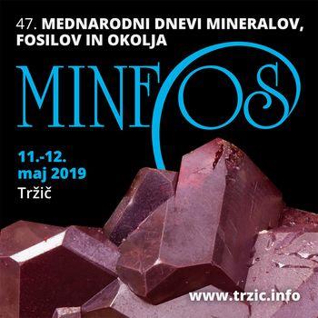 47. Mednarodni dnevi mineralov, fosilov in okolja - MINFOS