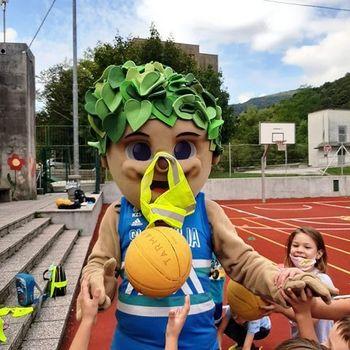 Dan slovenskega športa na Osnovni šoli Deskle