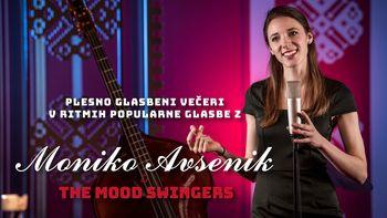 Plesni večer z Moniko Avsenik & The Mood Swingers, sobota 28.3.2020 ODPOVEDANO!
